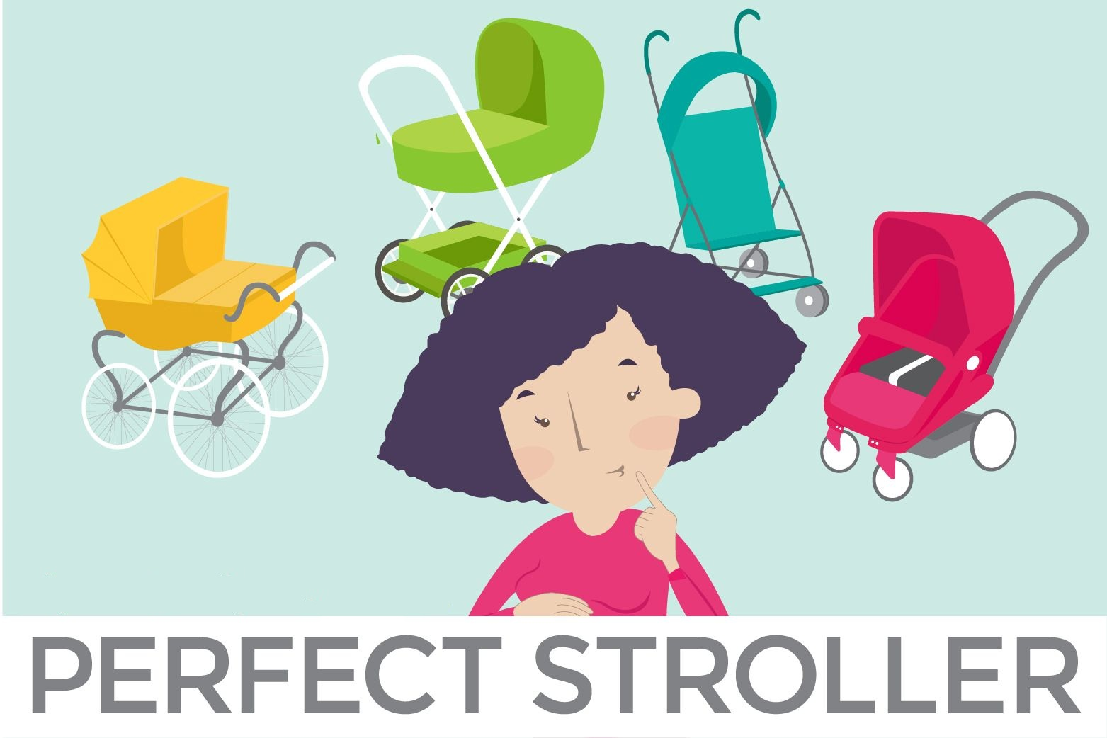 Choose baby strollers