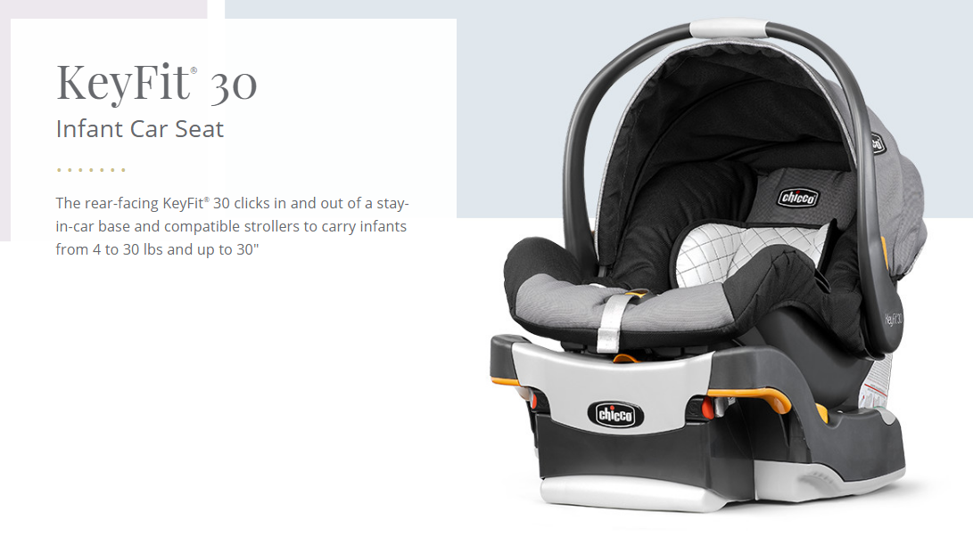 Chicco KeyFit® 30 Infant Car Seat - LylaMorris