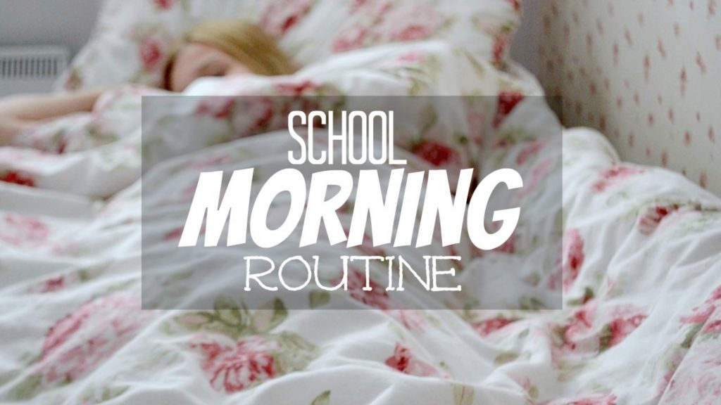 Easy Tips For Getting Back to School Morning Routine