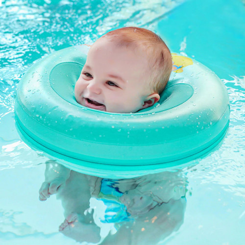 Babies are born with the ability to swim
