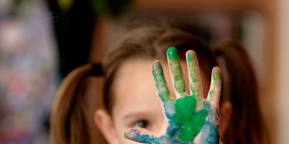 Crayola Mess-Free Finger Paint