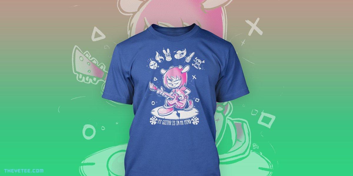 Guitar Cartoon T-Shirts