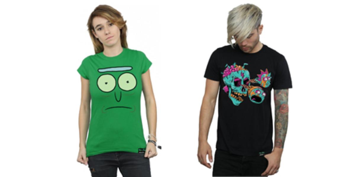 Rick And Morty Cartoon T-Shirt