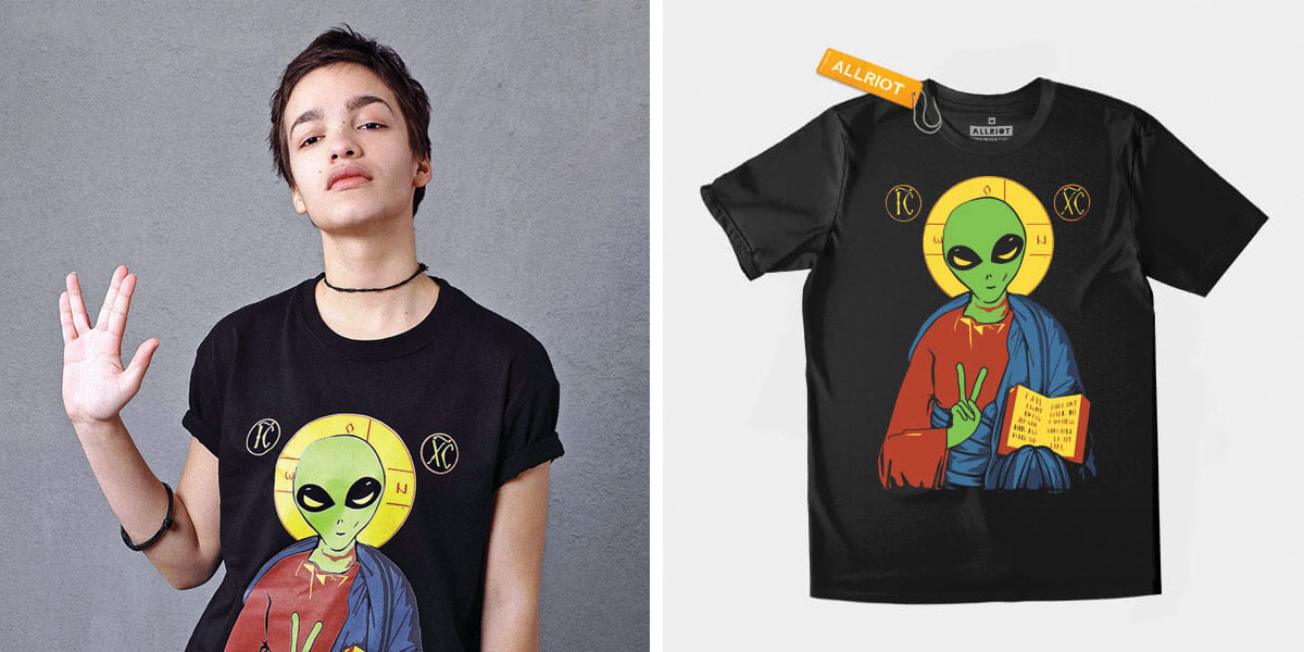 Scoop Neck Cartoon T-Shirts