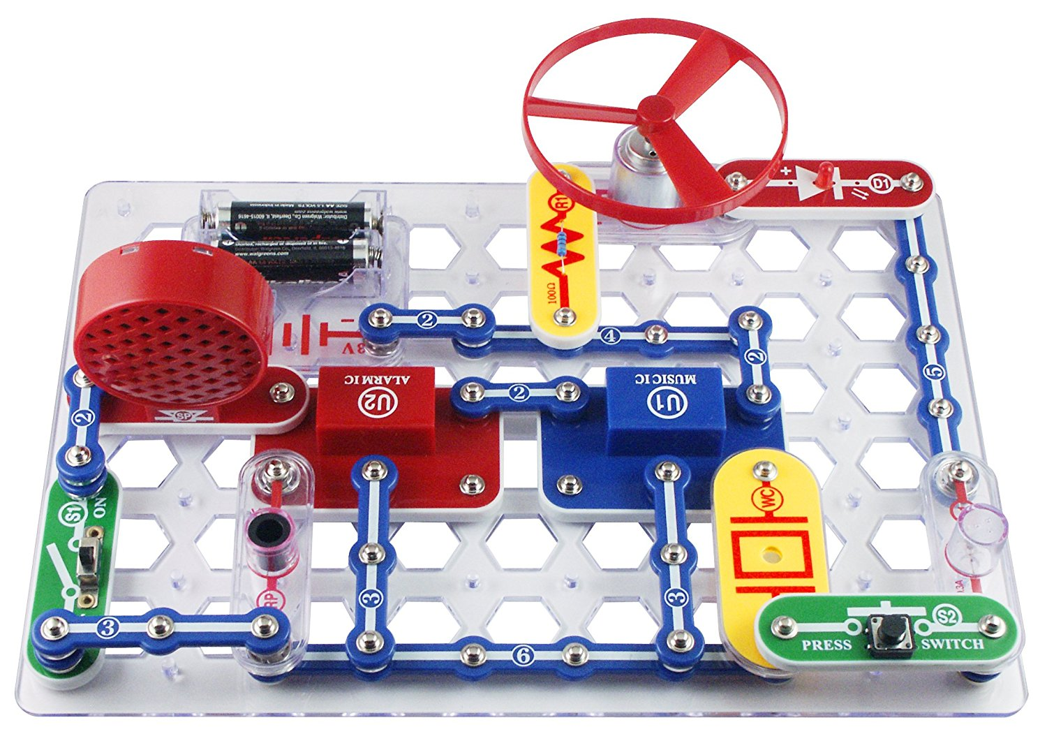 Break Circuits Jr. SC-100 Electronics Discovery Package
