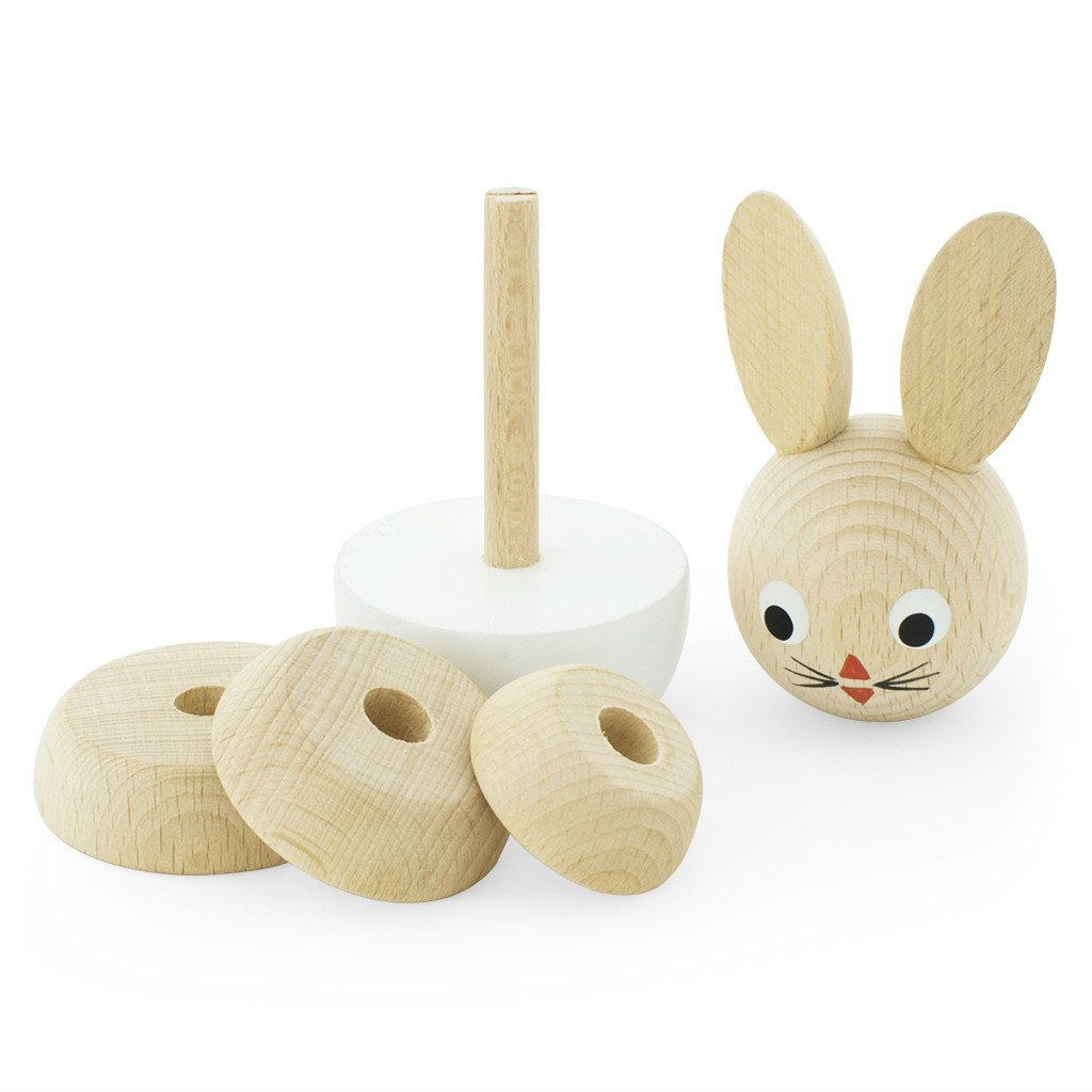 Bunny Timber Stacking Toy