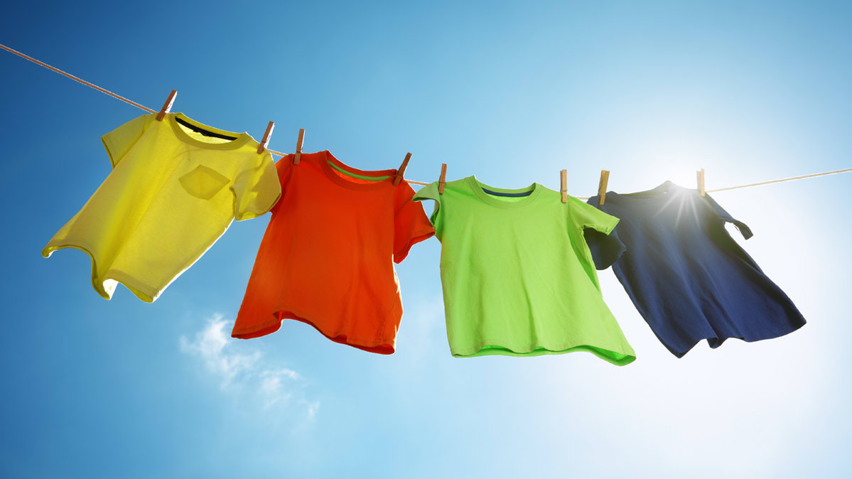 Drying Your Baby Clothes