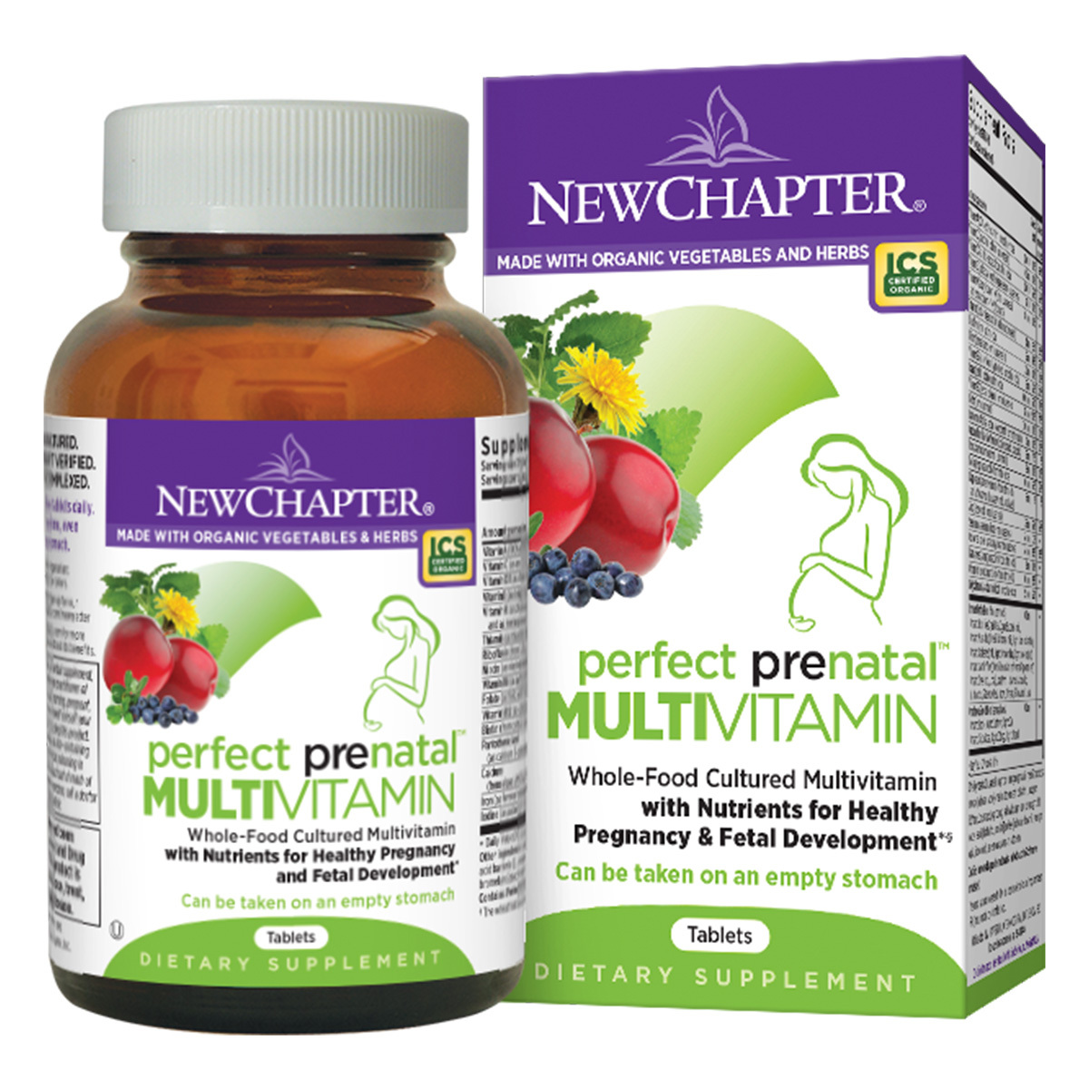 New Chapter Perfect Prenatal Multi-Vitamin