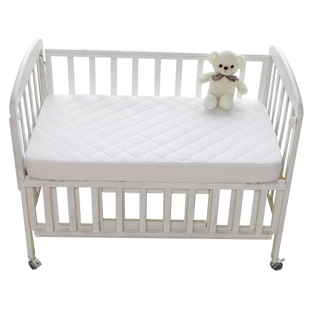 Sealy Waterproof Fitted Baby Crib Bed Mattress Pad
