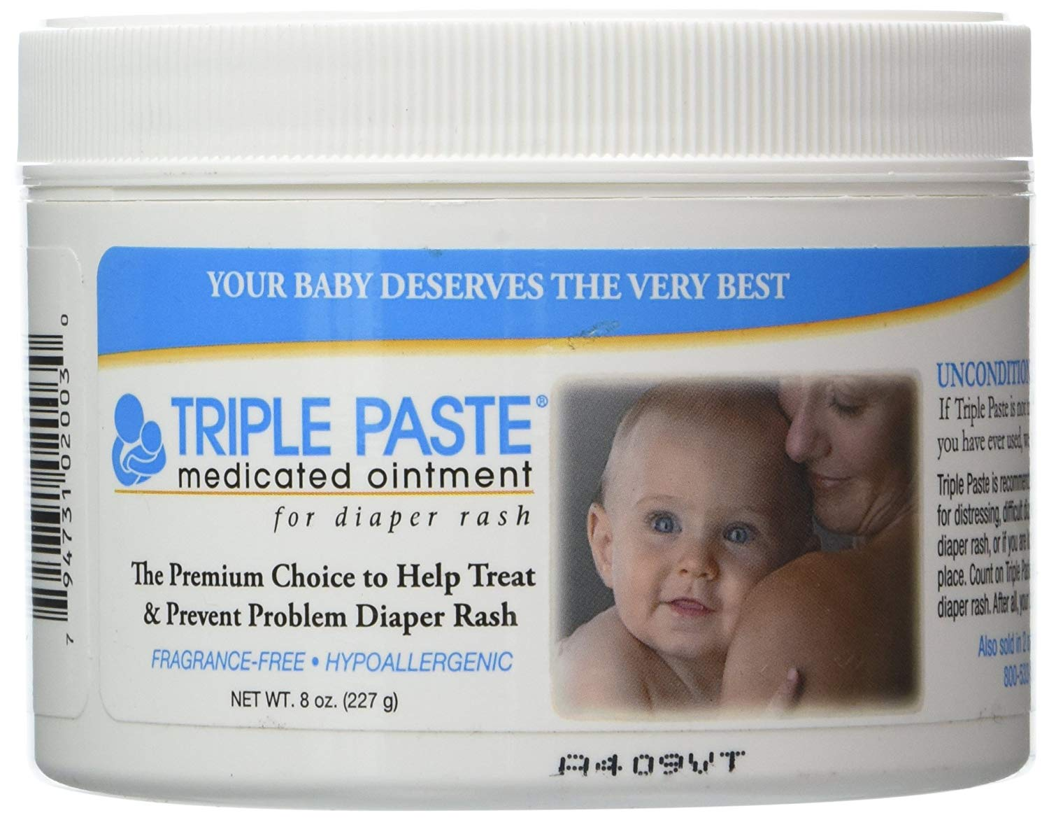 Three-Way Paste Medicated Ointment For Baby Diaper Rash