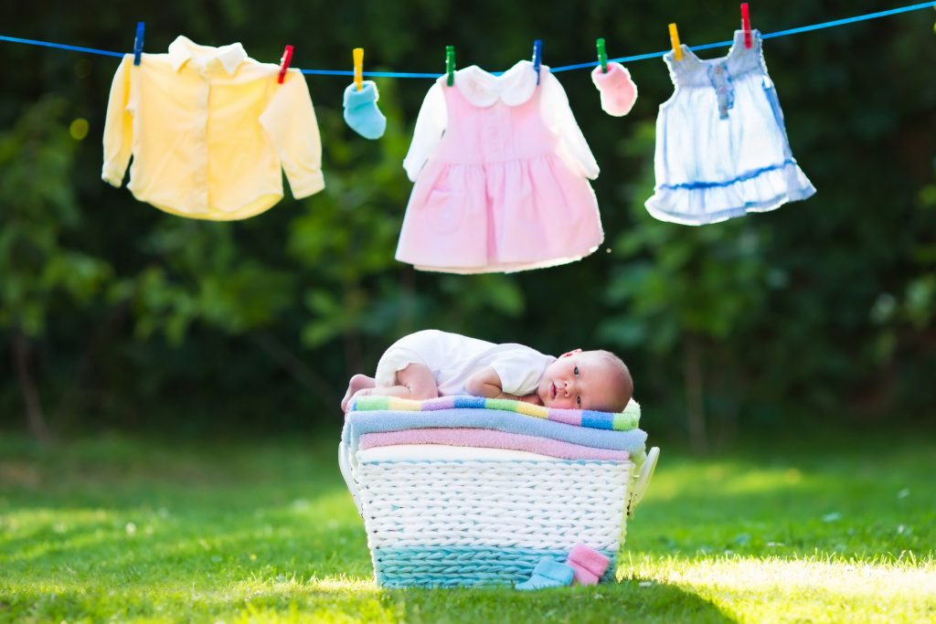 Tips For Washing Baby Clothes And Remove Stains
