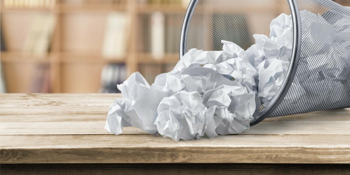 Upcycled Tissue Paper Heart Framework