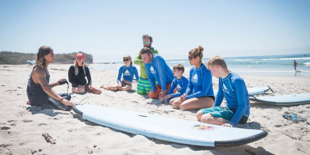 Tips When Teaching Kids How to Surf
