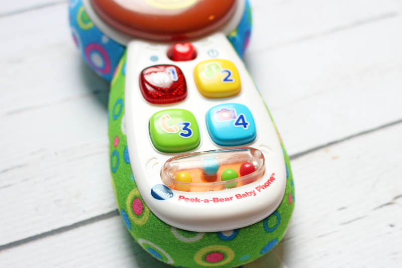 VTech Child Peek-a-Bear Child Phone