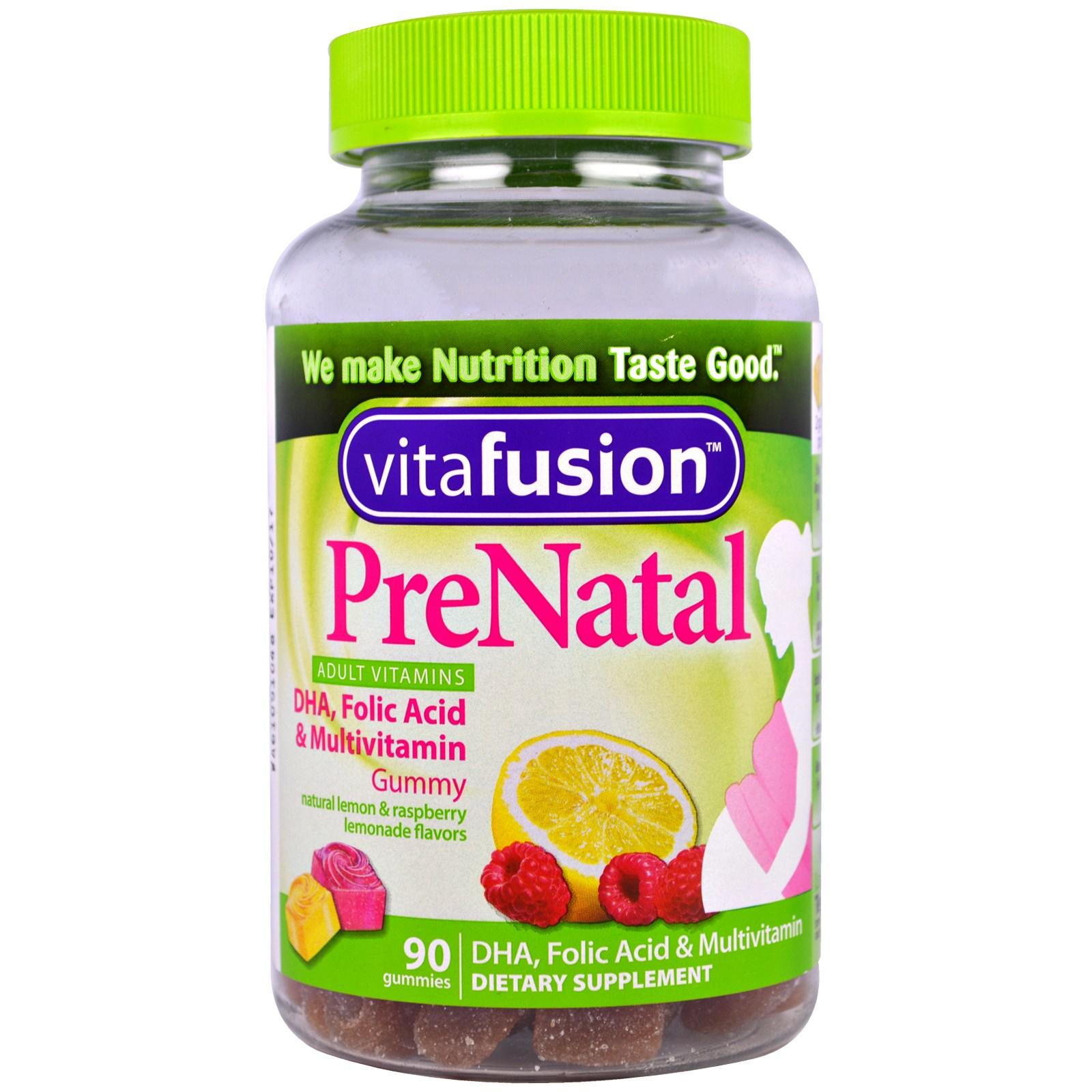 Vitafusion Prenatal Vitamin Gummies