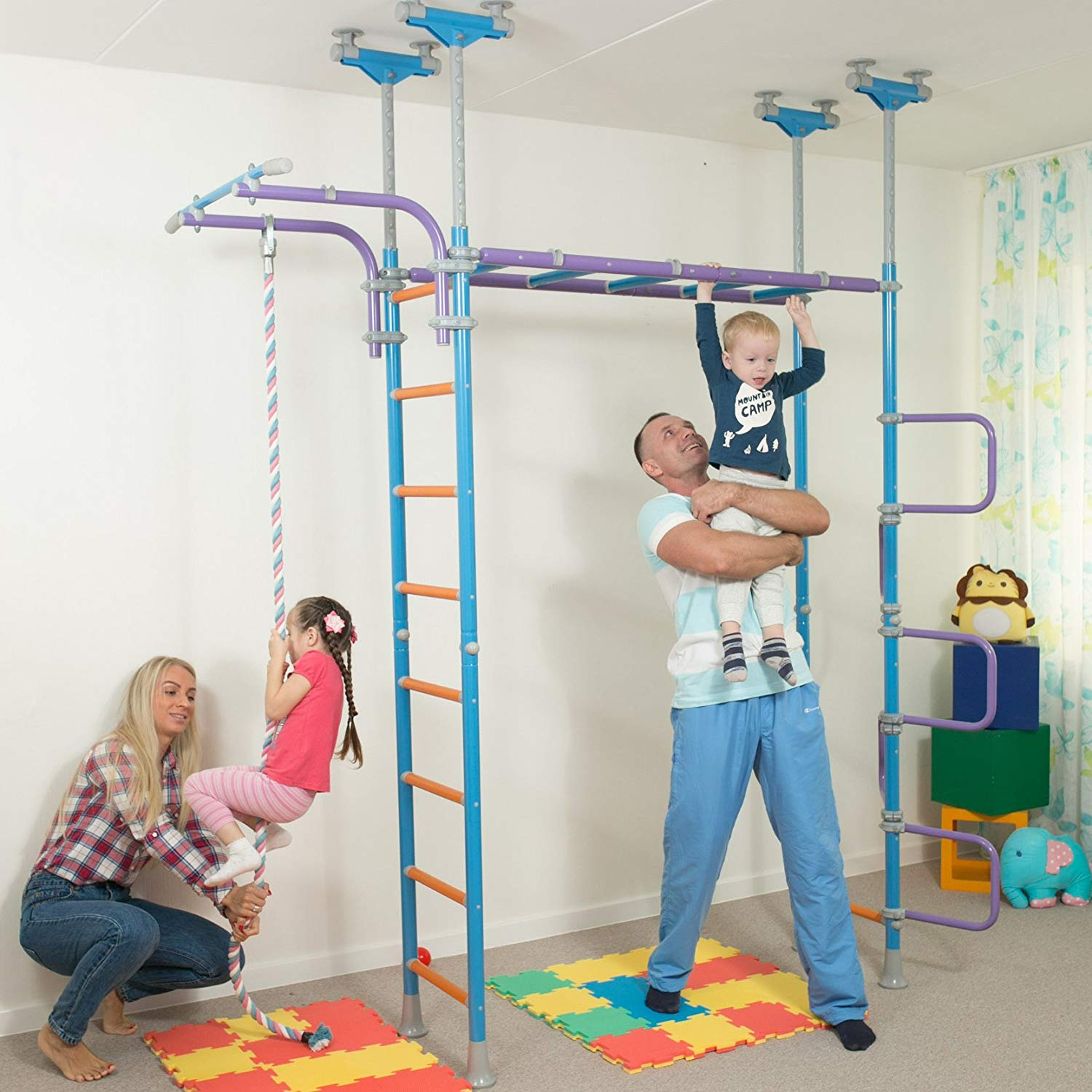 WALLBARZ NETS INDOOR PLAYGROUND