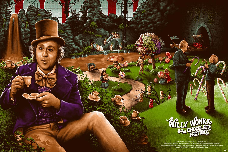 Willy Wonka Chocolate Factory