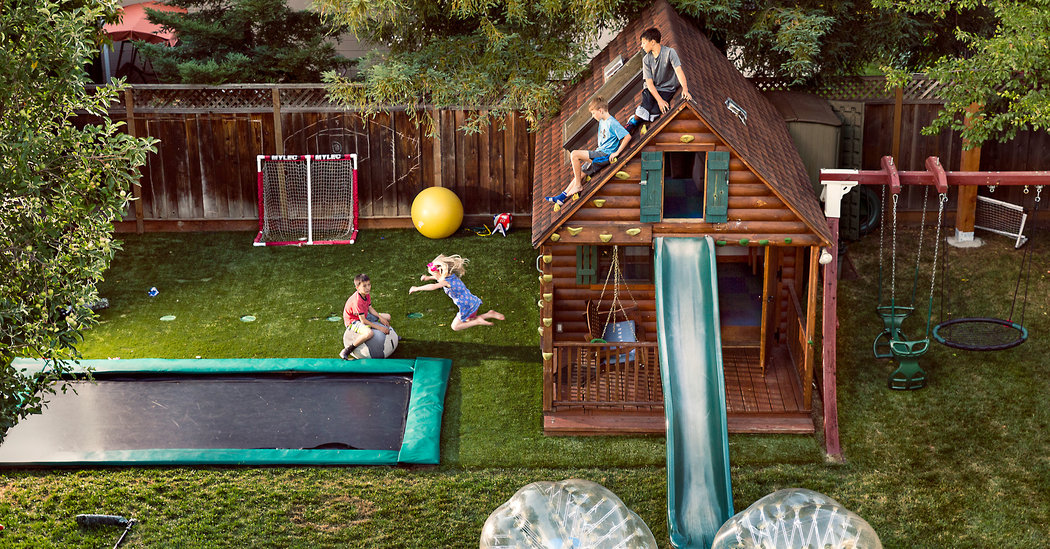 Backyards For School Aged Kids