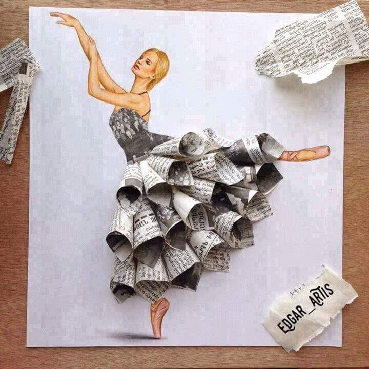 Crafting With Newspaper