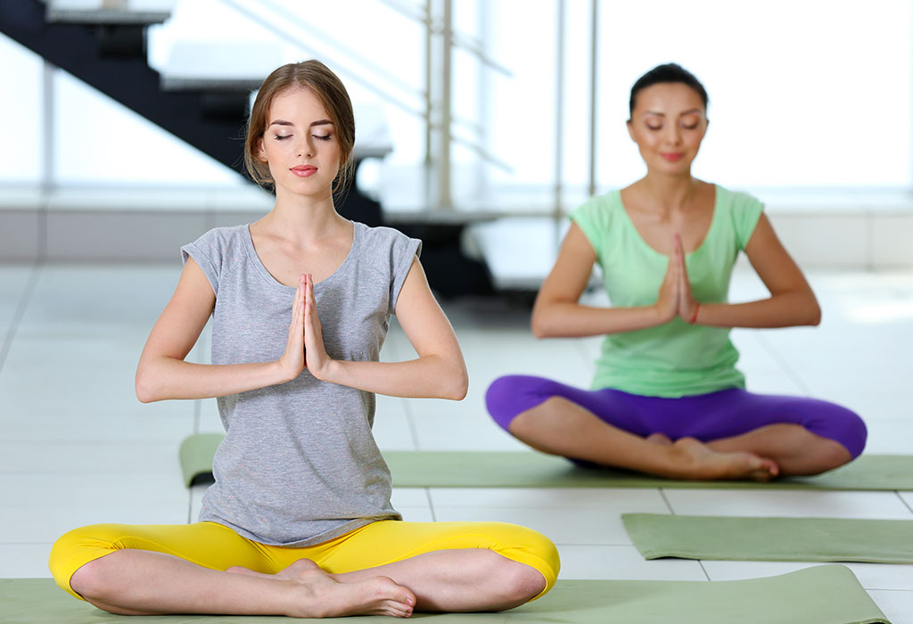 Yoga Exercise Cards