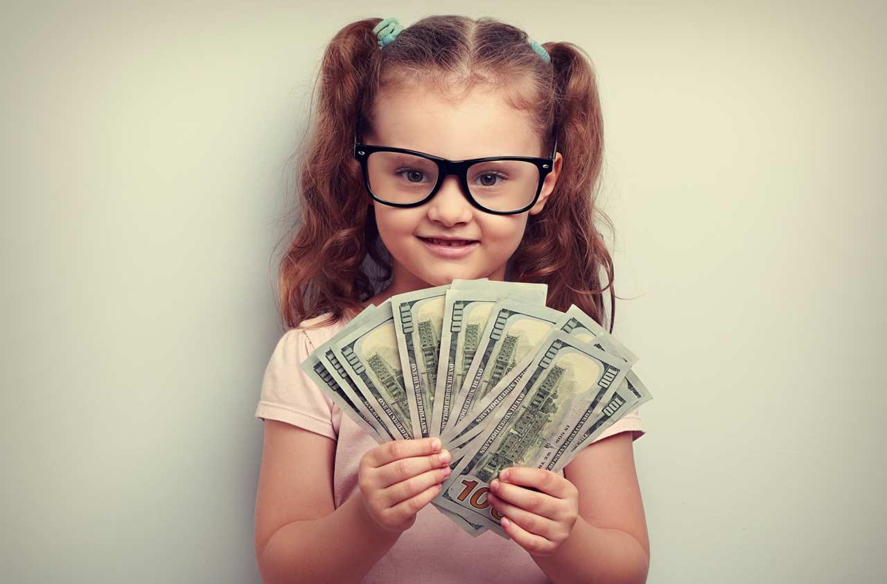 kids investing money