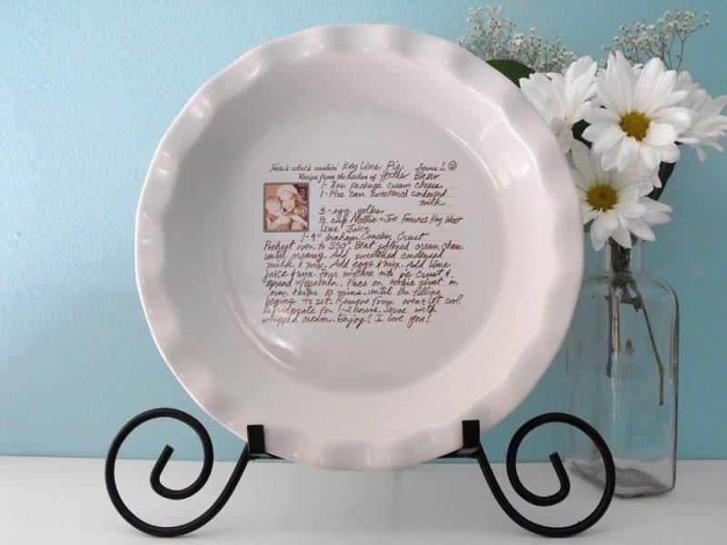 Handwritten Dish Plate