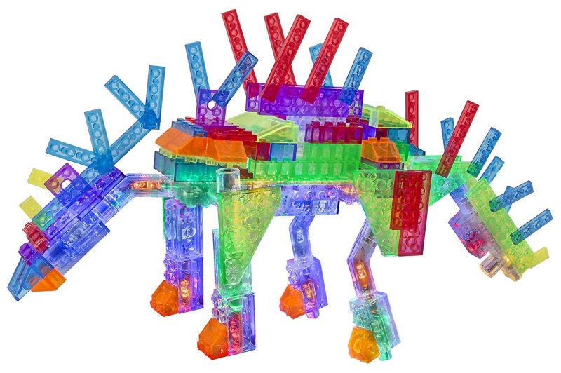 Laser Pegs National Geographic Dinosaurs Structure Package