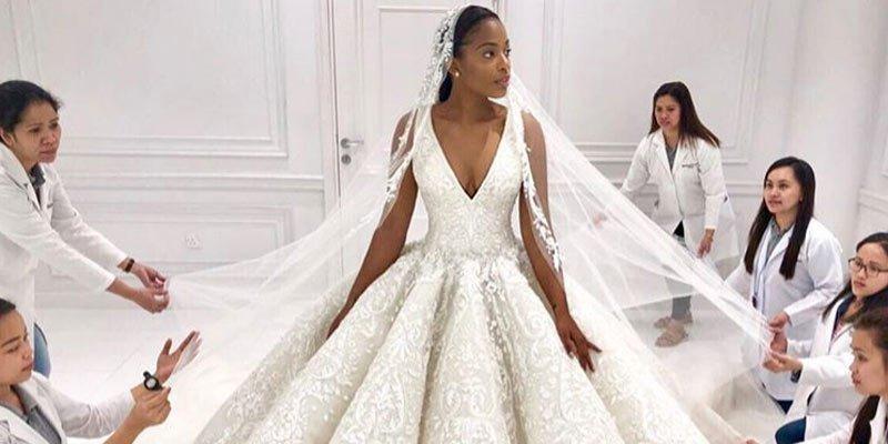 Neckline Wedding Dress