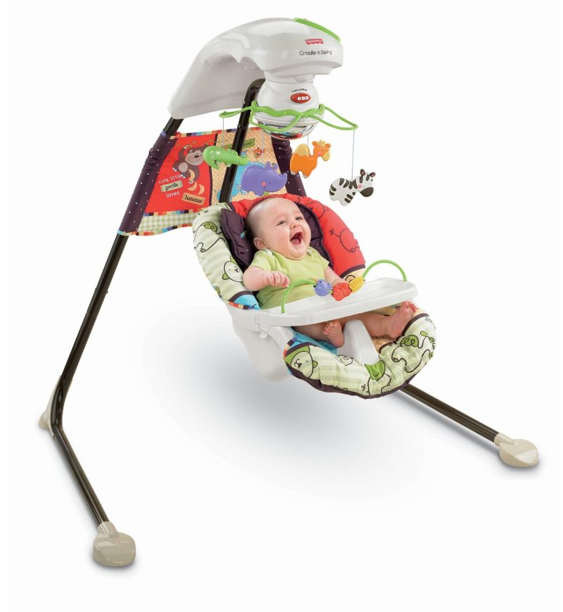 Fisher-Price Cradle'n Swing