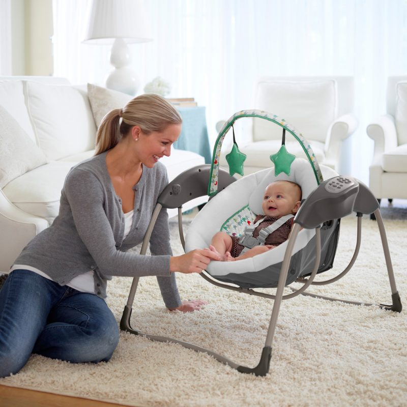 Graco Glider Lite LX Sliding Infant Swing